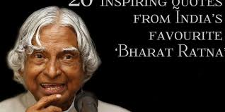 Best High School Senior Quotes Simple Dr APJ Abdul Kalam 48 Inspiring Quotes From India's Favourite