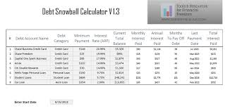 Debt Payoff Excel Debt Snowball Calculator Spreadsheet For Excel Nek Consults