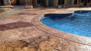 concrete pool decks. Wonderful Pool Stamped Concrete Pool Decks  Advanced Creations Serving The  TriState Area For N