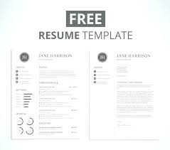 Unique Resumes Templates Creative Free Printable Resume Templates ...