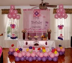simple balloons decoration for first birthday balloon decoration