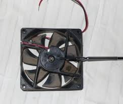 take apart that pc box fan see what s inside brushless dc motor they are commonly used in motors and are the cheapest way to go it s a very good sign that this was a stock cheap o fan