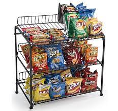 3 Katmanlı Tel Raf Ekran, Masa Üstü, 558,8 w Açık Raflar – Siyah – Griton  Reklam – Display Ürünler ve Reklamcılık Çözümleri