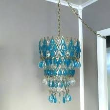 turquoise chandelier light mid century turquoise lamp hanging light hanging lamp regency light mid century light turquoise chandelier light