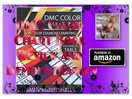Review On The Dmc Color Chart Book For Diamond Painting 2nd