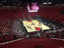 Viejas Arena Section K Rateyourseats Com