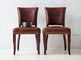 Genuine Leather Dining Room Chairs Modern Leather Dining Chairs Inspiration Inertiahomecom