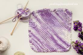 Grandmothers Dishcloth Pattern