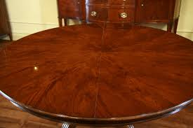 round henredon dining table