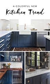 Kitchen Cabinets Green Painted Kitchen Cabinets Navy Blue Kitchens