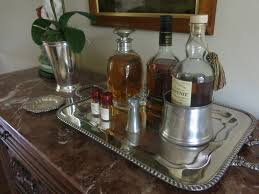 bar tray – dining room  garden home  party