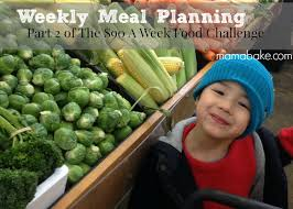 weekly meal plans on a budget 90 grocery budget two weekly meal plans mamabake