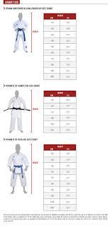 Karate Belt Size Chart Venum Size Guide Venum Com Us