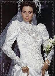 Risultati immagini per abiti sposa stile anni 70   abiti da sposa e … sposa 2017 acconciature vintage anni '70 trecce chignon sciolti … stile trasgressivo: Abiti Da Sposa Anni 80
