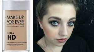 makeup forever ultra hd foundation review dry skin demo check in you