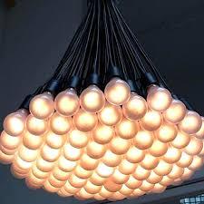 modern multi matte bulbs pendant lighting 10506