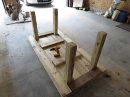 Diy patio table Outdoor Dining Diy Simple Patio Table Details Lets Just Build House Lets Just Build House Diy Simple Patio Table Details