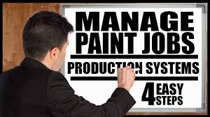 manage paint jobs with a ion system how to start a painting company painting business pro