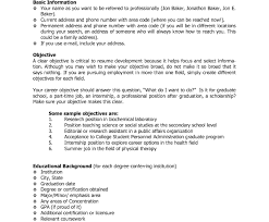 Career Objective Resume Examples Free Download General Labormple ...