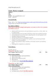 resume resume proffesional receptionist sample resumes sweet cv english receptionist hotel hotel receptionist job information national hotel receptionist resume sample