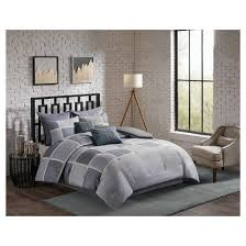 Bedding Sets : Target & Gray Herringbone Austin Comforter Set 8pc Adamdwight.com