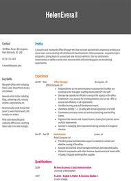 Free Online Resume Builder Resume Maker