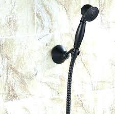 bronze handheld shower head fascinating bronze shower head with hose oil rubbed bronze handheld shower bracket