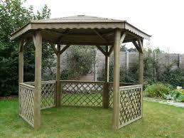 Hous Fabriquer Tonnelle Plan Mobilier Jardin Bois Fabriquer