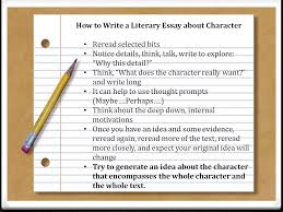 unit argumentative writing literary essays ppt  how to write a literary essay about character