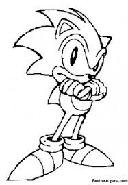 Printable Sonic Coloring Pages Printable Coloring Pages For Kids