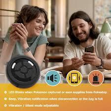 Megacom Dual Catchmon Pokemon Go Plus Zubehör mit Trageband, kabellos,  Bluetooth Pokemon Go Auto Catch Zubehör für Android Handy & iPhone –  Automatischer Pokemon Catcher unterstützt Dual-ID Accounts, schwarz :  Amazon.de: Electronics
