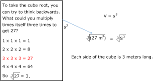 volume equation cube. determine the side length of a cube with volume 27m3. equation l