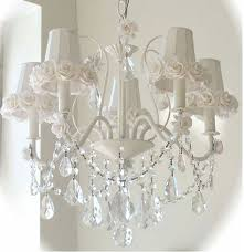 awesome shabby chic chandelier shabby chic chandelier for white iron and chandeliers design