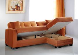 a rainbow orange sectional with storage by istikbal kubo sofa e22
