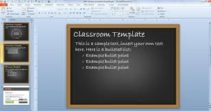 Free Classroom Powerpoint Template Free Powerpoint