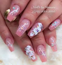 Pink Nail Designs 2019 50 Awesome Coffin Nails Designs For In 2019