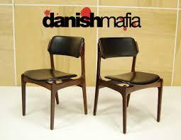 ... Mid Century Danish Modern Rosewood Erik Buck Chairs Stupendous Dining  Chair Image Design 82 Home Decor ...