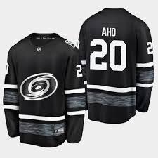 Carolina 2019 Aho Nhl 20 Hurricanes - Jersey All-star Black Sebastian