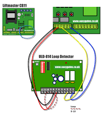 installing a uld 814 single loop detector to the cb11 control panel