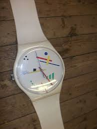 swatch watch giant maxi wall clock