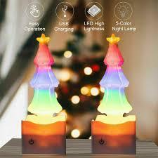 Dimmable Christmas Lights Led Christmas Tree Salt Lights Dimmable Night Lights Lights