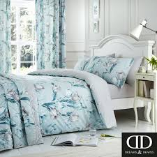 dreams ds tulip reversible easy care duvet cover bedroom range duck egg 16 99