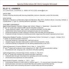 10 Teacher Resume Templates Samples Examples Format Sample
