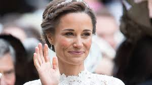 pippa middelton was a blushed and blushing bride on her wedding day image getty