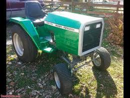massey ferguson 320gtx garden tractor with custom paint and headlights
