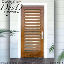 contemporary 14 lite door solid wood