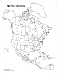 Best Photos Of North America Map Coloring Page Blank North America