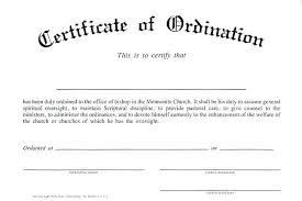 Ordination Certificate Template Ordination Certificate Template Sinnalba Co