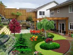 Outdoor:Small Backyard Landscaping Ideas With Nice Sofa Seatings Small  Backyard Landscaping Ideas With Nice