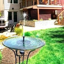 garden fountains garden fountains solar garden fountains solar powered water pump panel garden fountain pond